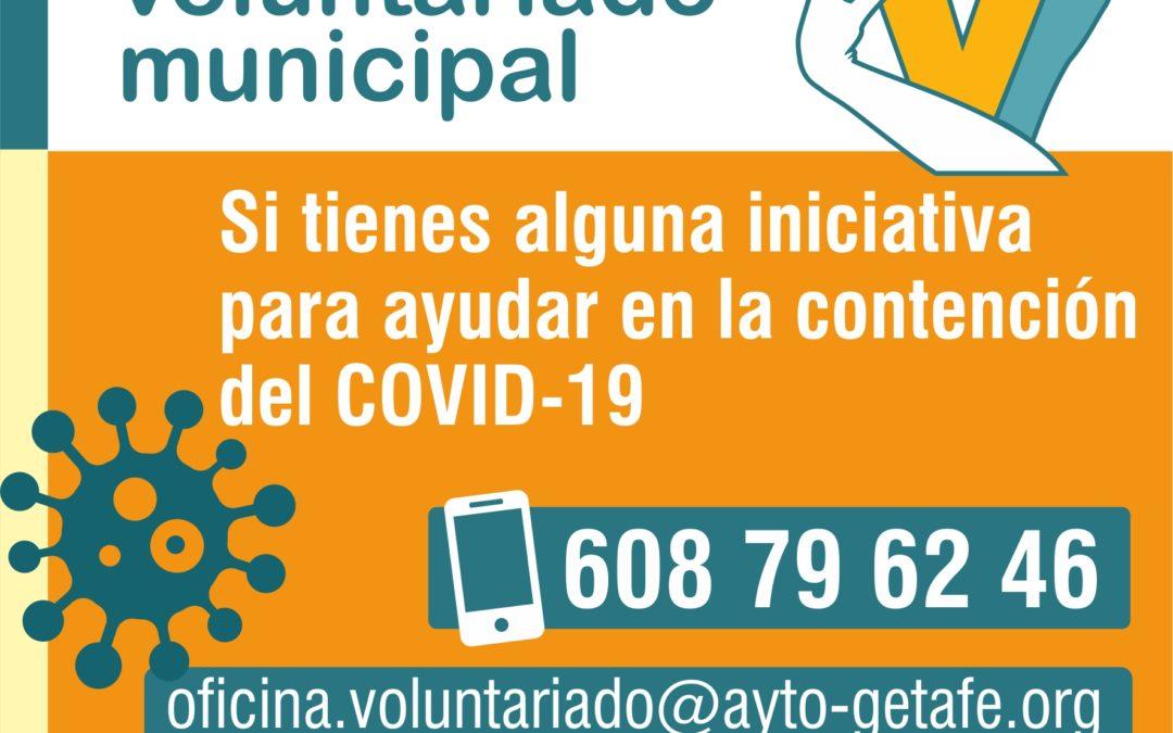 Getafe habilita la oficina del voluntariado para centralizar las iniciativas ciudadanas