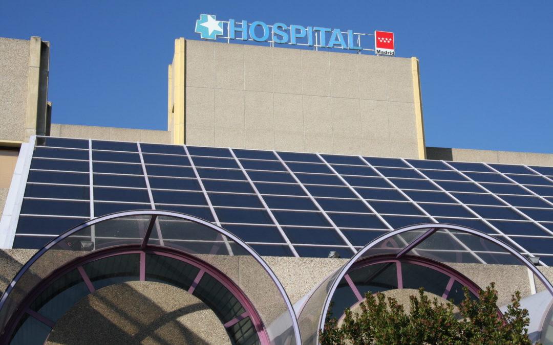 Getafe instalará dos carpas de 200m² en el Hospital